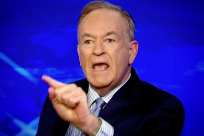"Bill O'Reilly, host of #1 rated cable news network show ""The O'Reilly Factor"""