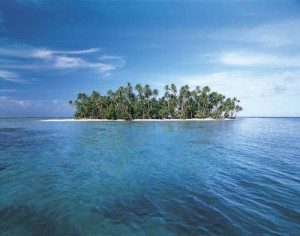 A stranded island